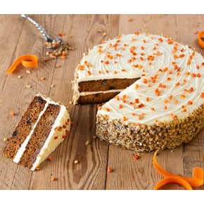 Carrot Cake - (255mm) - Frozen