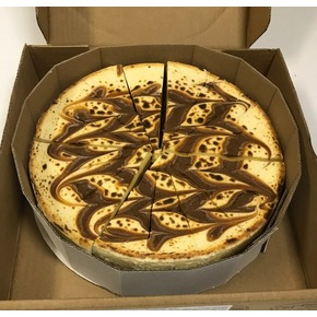 Salted Caramel Brulée Cheesecake - (125 mm) - Frozen